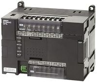Omron CP1L-EM, 12 Outputs, Ethernet Networking Computer Interface PLC CPU