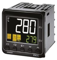 Omron E5CC PID Temperature Controller, 48 x 48mm, 1 Output Linear, 24 V ac/dc Supply Voltage