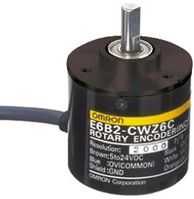 Omron Incremental Encoder 256 ppr 1000rpm Solid 12 → 24 V dc