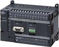 Omron CP1L, 12 Outputs, USB Networking Computer Interface PLC CPU