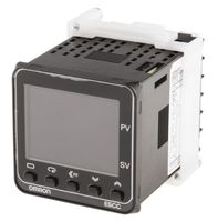 Omron E5CC PID Temperature Controller, 48 x 48mm, 1 Output Relay, 100 → 240 V ac Supply Voltage