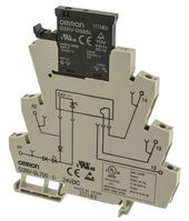 Omron 3 A SPST Solid State Relay, DIN Rail, MOSFET, 26.4 V dc Maximum Load