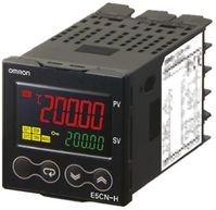 Omron E5CN PID Temperature Controller, 48 x 48mm, 2 Output Relay, 24 V ac/dc Supply Voltage
