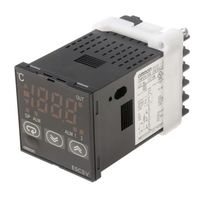Omron E5CSV PID Temperature Controller, 48 x 48mm, 2 Output Relay, 100 → 240 V ac Supply Voltage