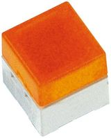 IP00 Yellow Cap Tactile Switch, SPST-NO 50 mA @ 24 V dc